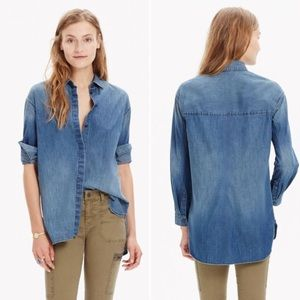 Madewell Denim Clean Packet Shirt
